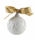 "Nao Porcelain ""Christmas ribbons ball"" Figurine by Lladro"