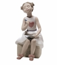 "Nao Porcelain ""My first letter"" Figurine by Lladro"