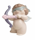 "Nao Porcelain ""Aiming for love"" Figurine by Lladro"