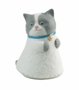 "Nao Porcelain ""Little kitty (blue)"" Figurine by Lladro"