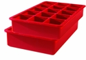 Tovolo Perfect Ice Cube Trays - Red (Set of 2)