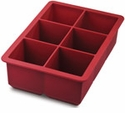 Tovolo King Ice Cube Tray Red