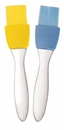 Tovolo Silicone Brush w/ Removable Bristles - Blue