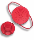 "Tovolo 10"" Silicone Steamer - Red"
