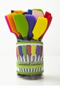 Tovolo Nylon Handle Silicone Spatula (Assorted Colors)