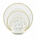 Vera Wang China Gilded Leaf 5 Piece Place Setting