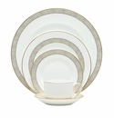 Vera Wang China Gilded Weave 5 Piece Place Setting