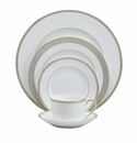 Vera Wang China Golden Grosgrain 5 Piece Place Setting