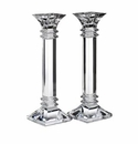 Waterford Marquis Crystal Treviso 10� Candlestick, Pair