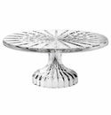 Waterford Marquis Crystal Bezel Footed Cake Plate