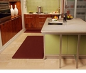 Wellnessmats Anti-Fatigue Kitchen Floor Mat-Burgundy-6x3