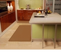 Wellnessmats Anti-Fatigue Kitchen Floor Mat-Tan-6x3