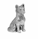 Andrea by Sadek Silver Plated Fox Figure