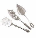 Andrea by Sadek Silver Plated Dessert Servers Set of 3