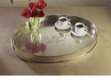 Dessau Home Antique Silver Oval Madison Tray