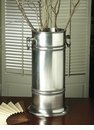 Dessau Home Antique Silver Umbrella Stand