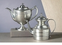 Dessau Home Antique Silver Decorative English Teapot