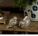 Dessau Home Antique Silver Chicks