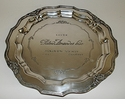 Dessau Home Antique Silver French Charger