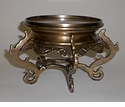 Dessau Home Antique Brass Asian Stand