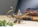 Dessau Home Antique Brass Aladdin Lamp