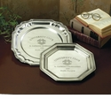 Dessau Home Antique Silver Hexagon Tray