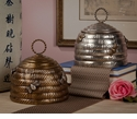 Dessau Home Antique Brass Beehive Box