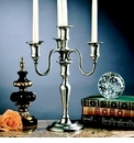 Dessau Home Antique Silver 4-Lite Candelabra