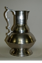Dessau Home Antique Silver Decorative Pitcher/Vase