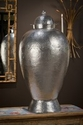 Dessau Home Nickel Hammered Temple Jar