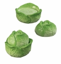 "Andrea by Sadek 3.5"" H Green Cabbage Salt & Pepper Set"