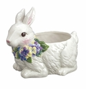 Andrea by Sadek Bunny with Hydrangea Planter