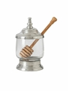 Match Italian Pewter Honey Jar with Dipper