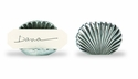 Match Italian Pewter Shell Seating Card Holder