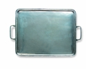 Match Italian Pewter Rectangle Tray Small