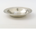 Match Italian Pewter Round Serving Bowl Small