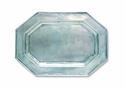 Match Italian Pewter Octagonal Tray For Tureen