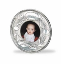 Match Italian Pewter Baby Photo Frame