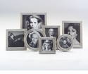 Match Italian Pewter Umbria Round Frame Large