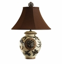 "Vietri Heirloom Balducci Lamp 27"" H, 19.5"" W"