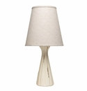 Vietri Modern Collection Cream Ridge Lamp