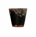 "Skyros Designs 4.25"" Vintage Garden Pot - Black"