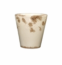 "Skyros Designs 6"" Vintage Garden Pot - White"