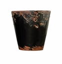 "Skyros Designs 7"" Vintage Garden Pot - Black"