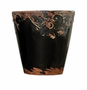 "Skyros Designs 8"" Vintage Garden Pot - Black"