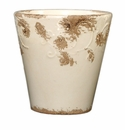"Skyros Designs 9"" Vintage Garden Pot - White"