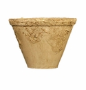 "Skyros Designs 6.25"" Reboco Garden Pot - Painted Sand"
