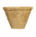 "Skyros Designs 6.75"" Reboco Garden Pot - Painted Sand"