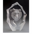 Mats Jonasson Maleras Swedish Crystal Bear, Limited Edition