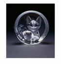 Mats Jonasson Maleras Swedish Crystal Kitten